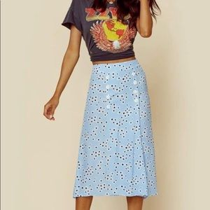 Faithfull the Brand Floral Skirt